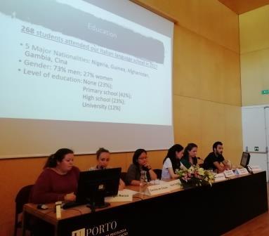 """SEMINÁRIO INTERNACIONAL DO PROJETO REGAP """"REDUCING THE EDUCATIONAL GAP FOR MIGRANTS AND REFUGEES IN EU COUNTRIES"""""""