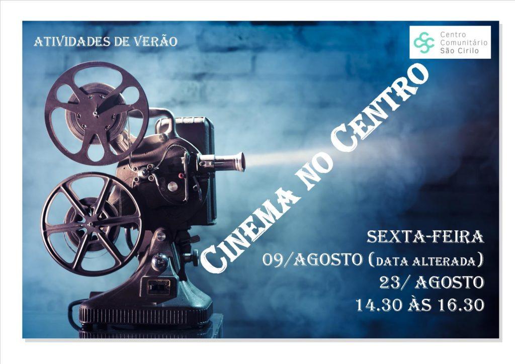 ATIVIDADE LIVRE DE VERÃO CINEMA