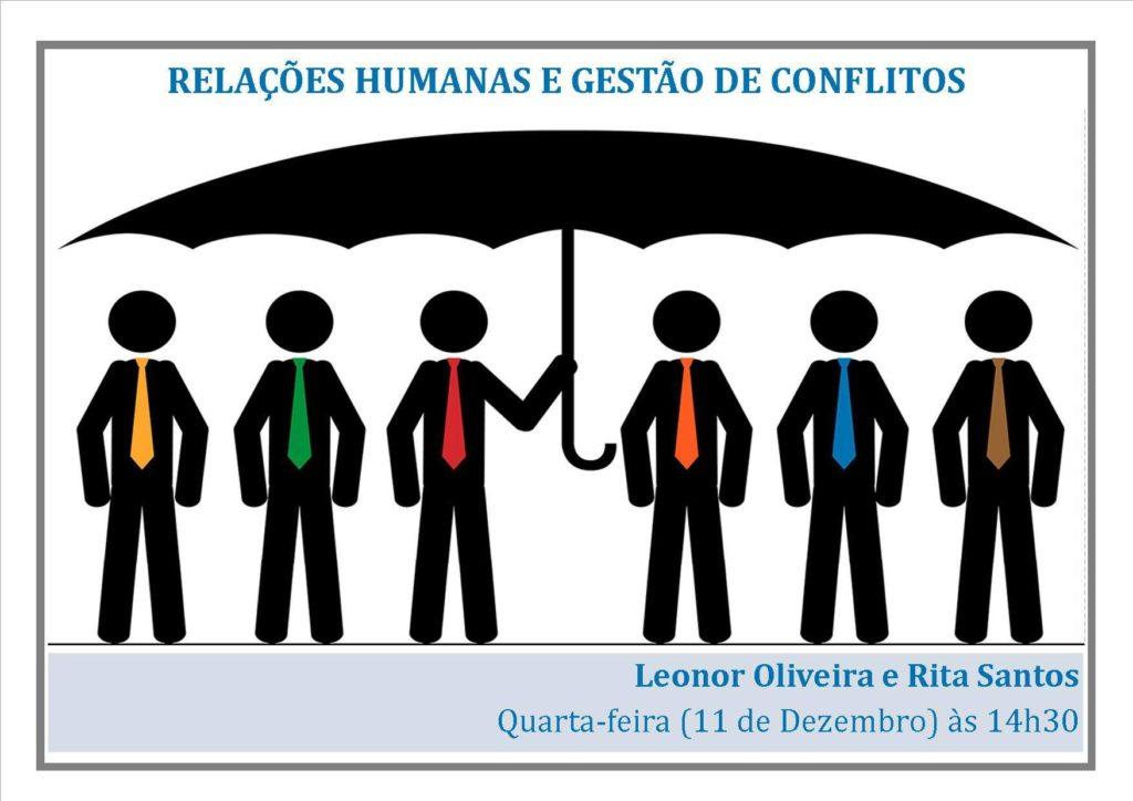 """FORMAÇÃO """"RELAÇÕES HUMANAS E GESTÃO DE CONFLITOS"""""""