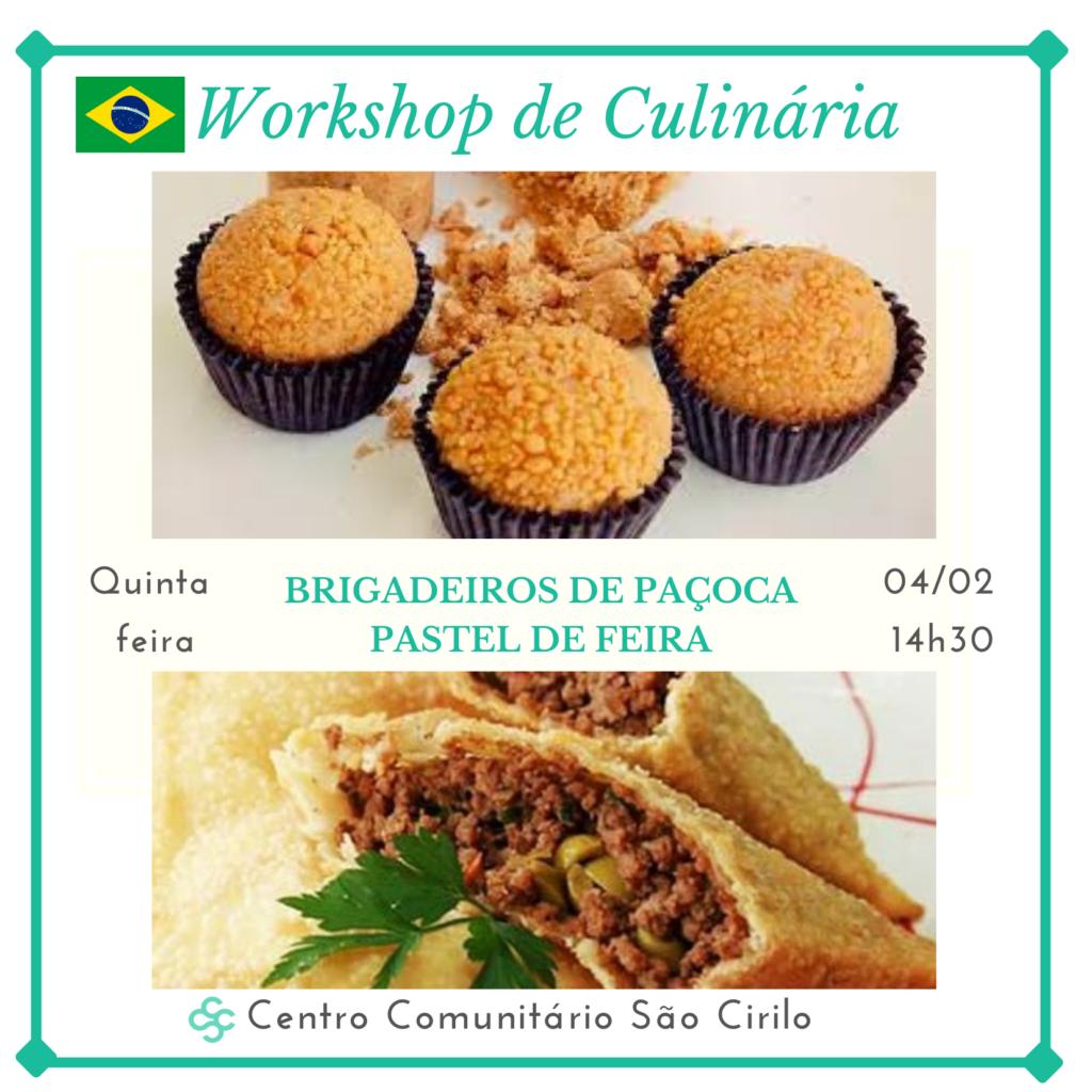 WORKSHOP DE CULINÁRIA DO BRASIL