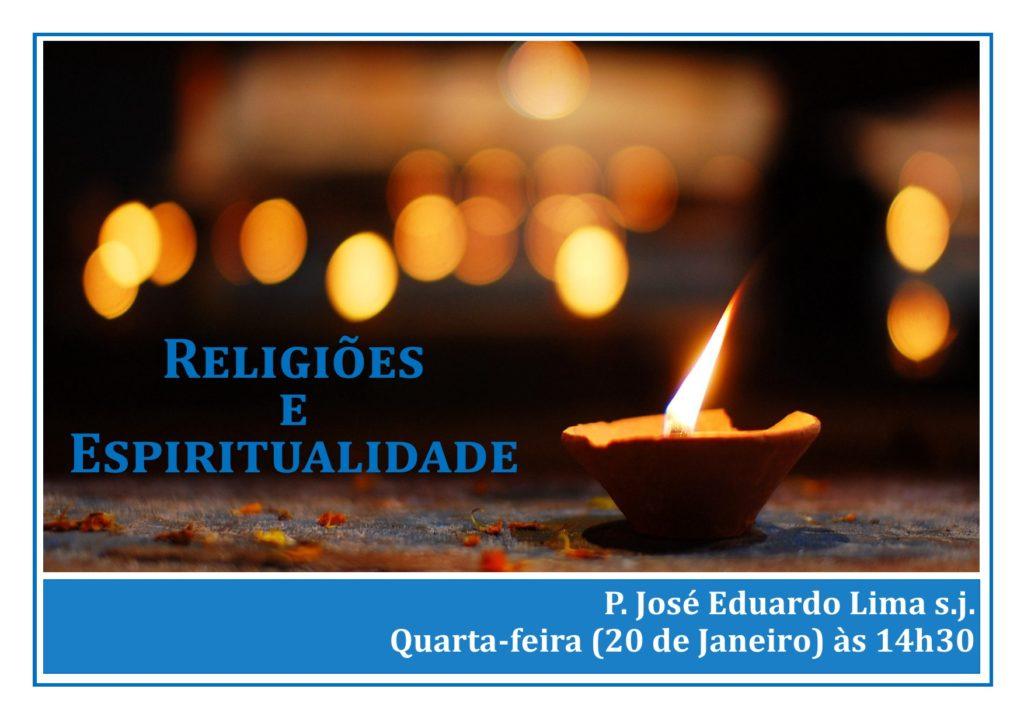 """FORMAÇÃO: """"ESPIRITUALIDADE E RELIGIÕES"""""""