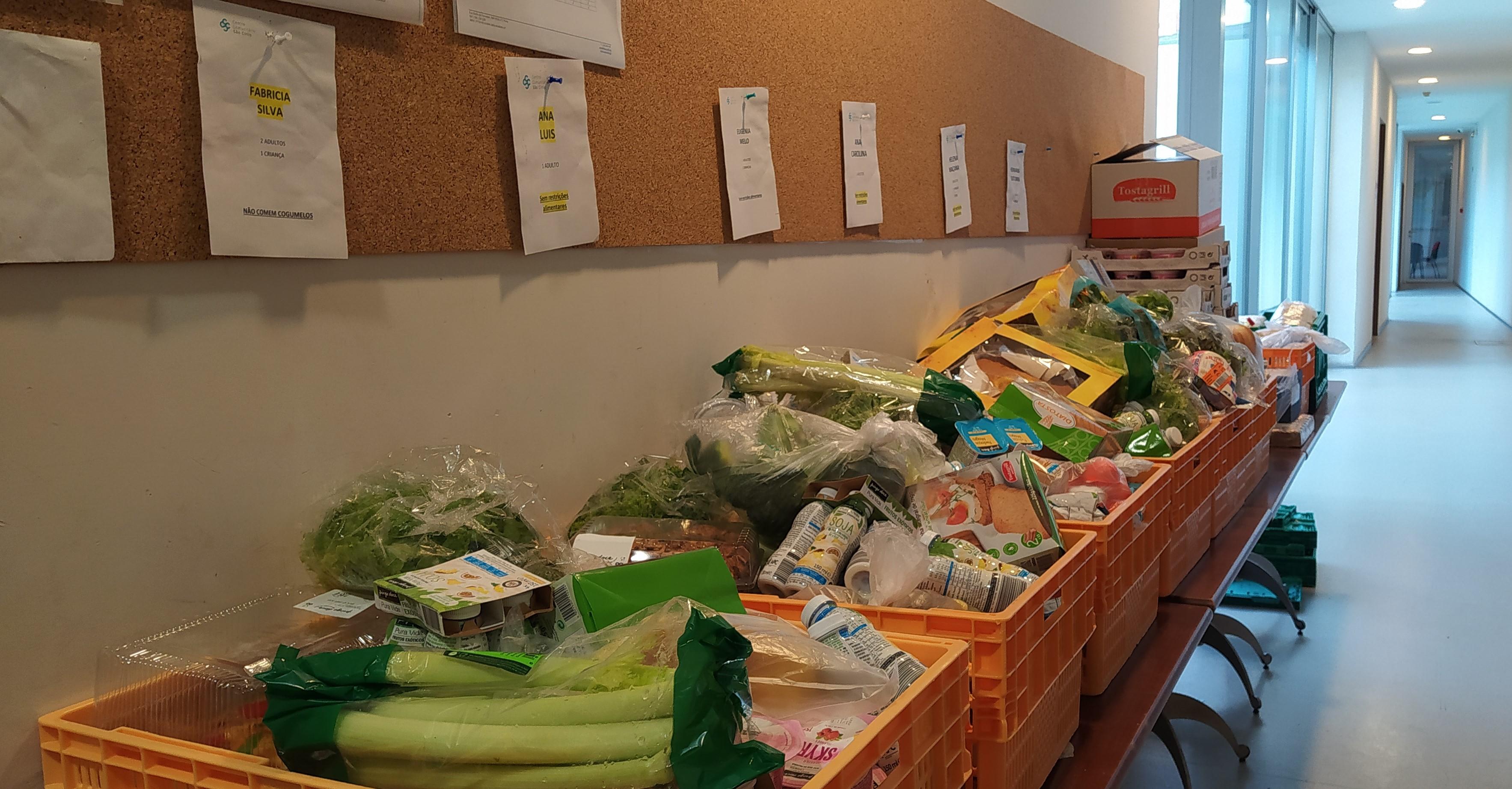 SAC - Serviço de Apoio em Cabaz de alimentos